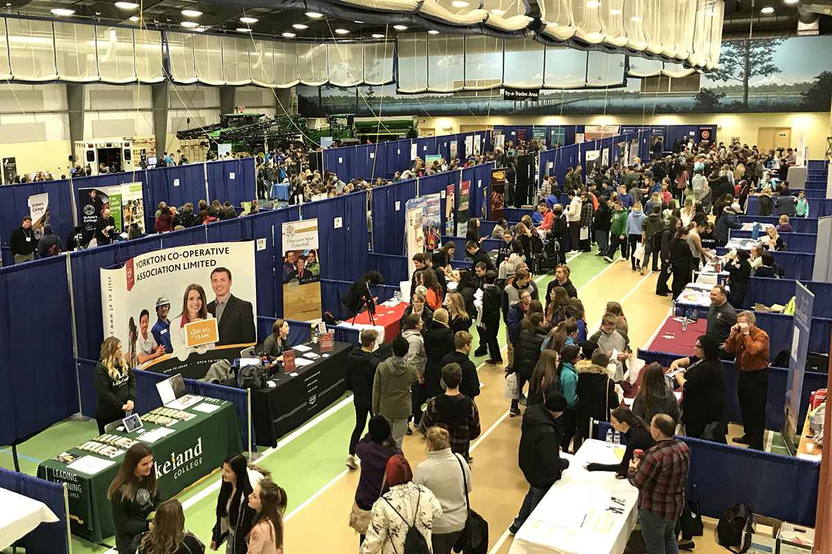 Close to 2,000 attend Career Explorations 2017 | Parkland College